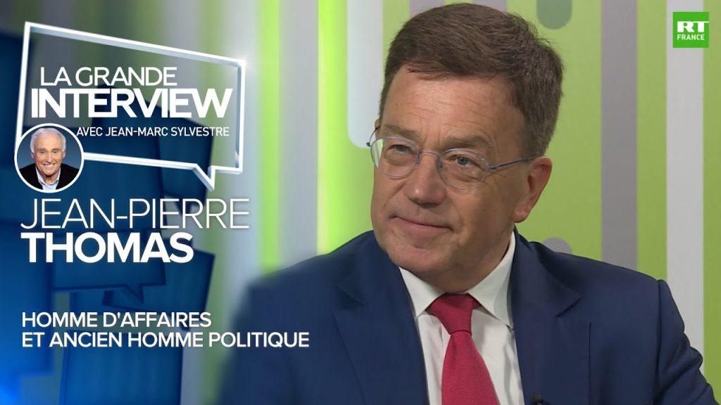 Interview TV sur les relations Euro-Russes lors du Forum international de Saint-Petersbourg